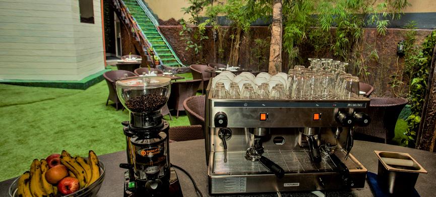 Himalayan organic coffee house