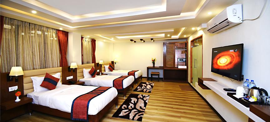 Deluxe Tripple Room, Hotel Jampa